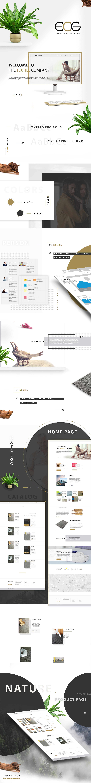 UI/UX ESG интернет магазин