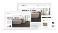 Дизайна для сайта напольных покрытий