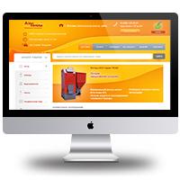 Дизайн интернет магазина котлов