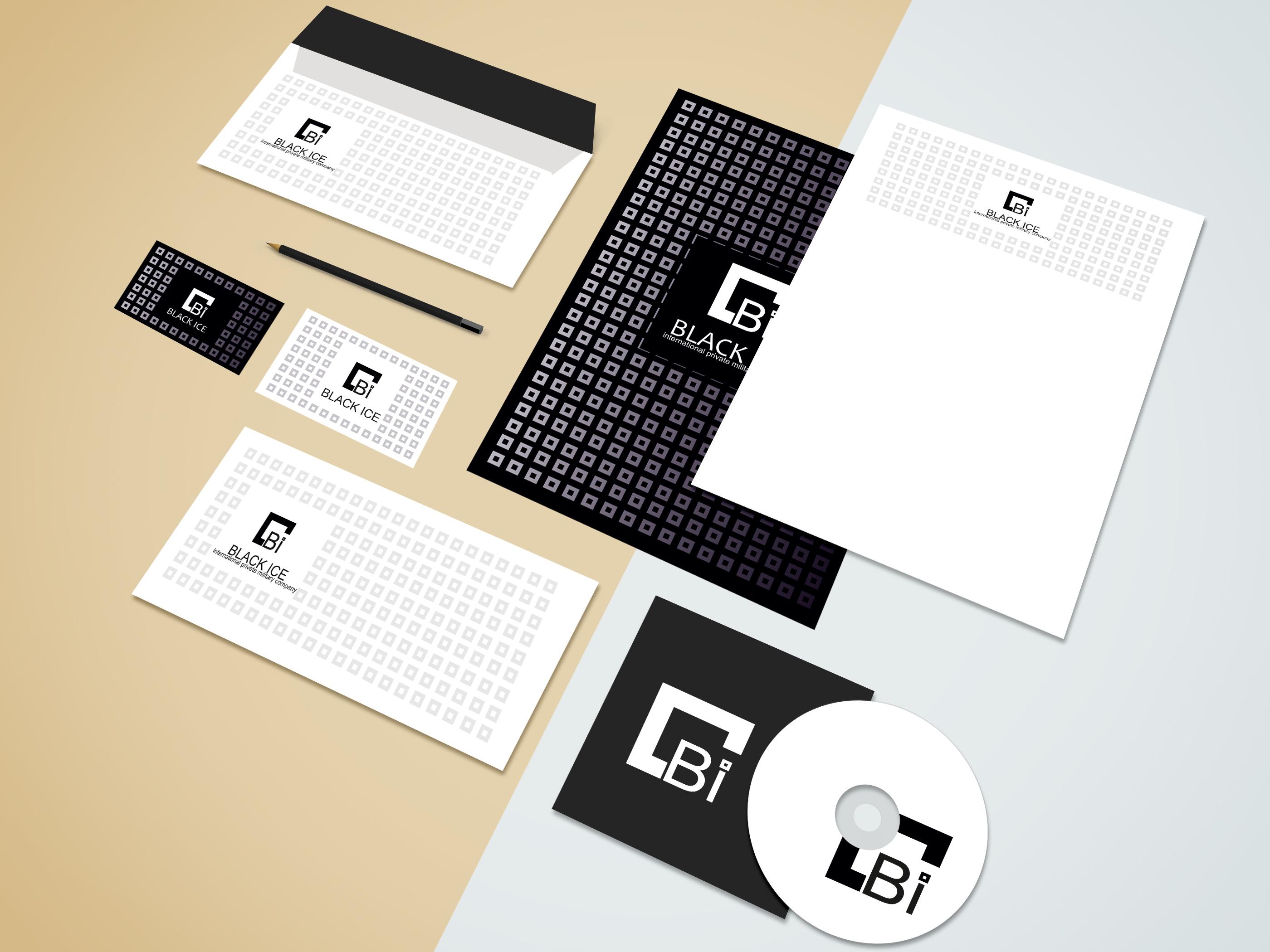 """Логотип + Фирменный стиль для компании """"BLACK ICE"""" фото f_77956debd89b2bf6.jpg"""