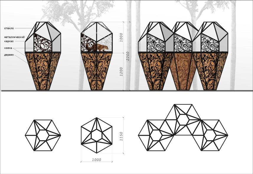 Дизайн конструкции для размещения в ней живого соболя фото f_2425701156e3025c.jpg