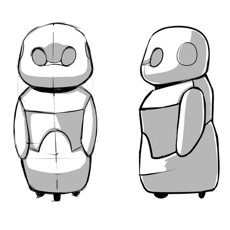 Конкурс на разработку дизайна детского домашнего робота. фото f_3775a79e90ae4ee2.jpg