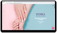 "[Под ключ] Корпоративный сайт ""Pudra"""