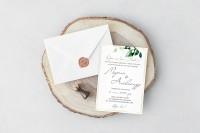 Свадебное приглашение в классическом стиле