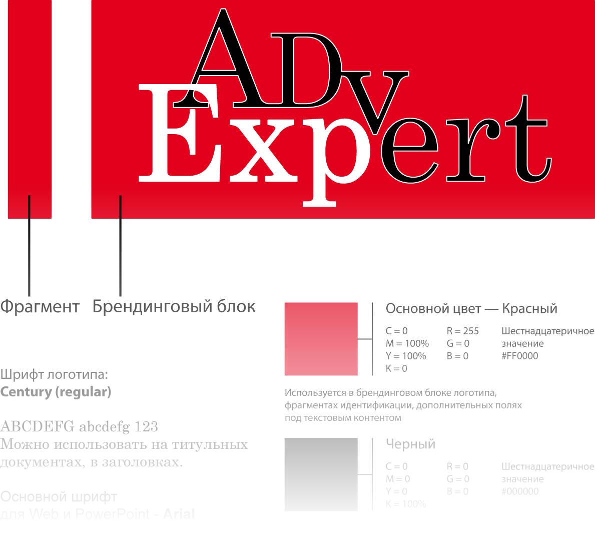 Логотип для рекламного блога