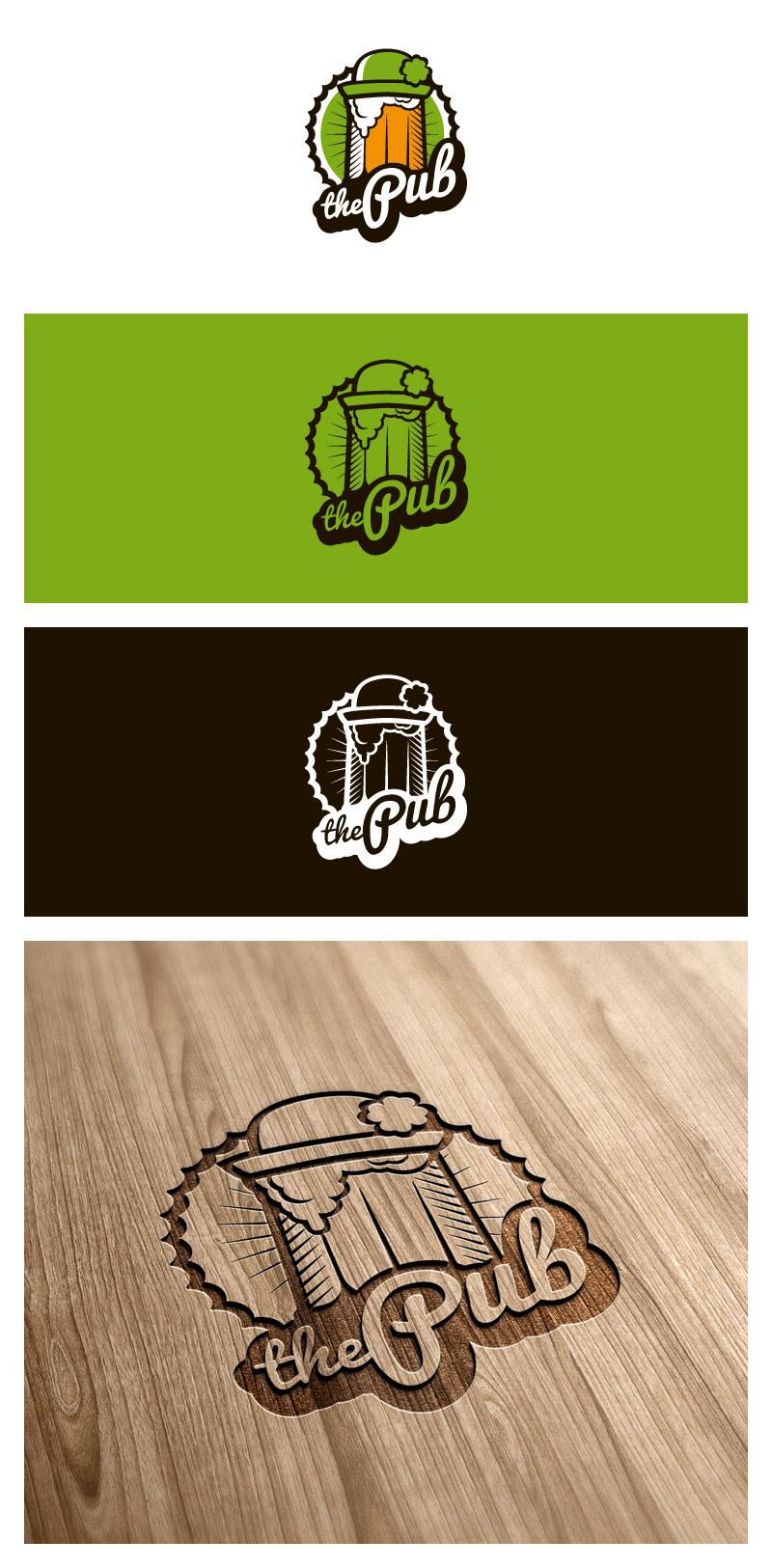 "Разработка логотипа торговой марки ""THEPUB"" фото f_53251e301f67c2c4.jpg"
