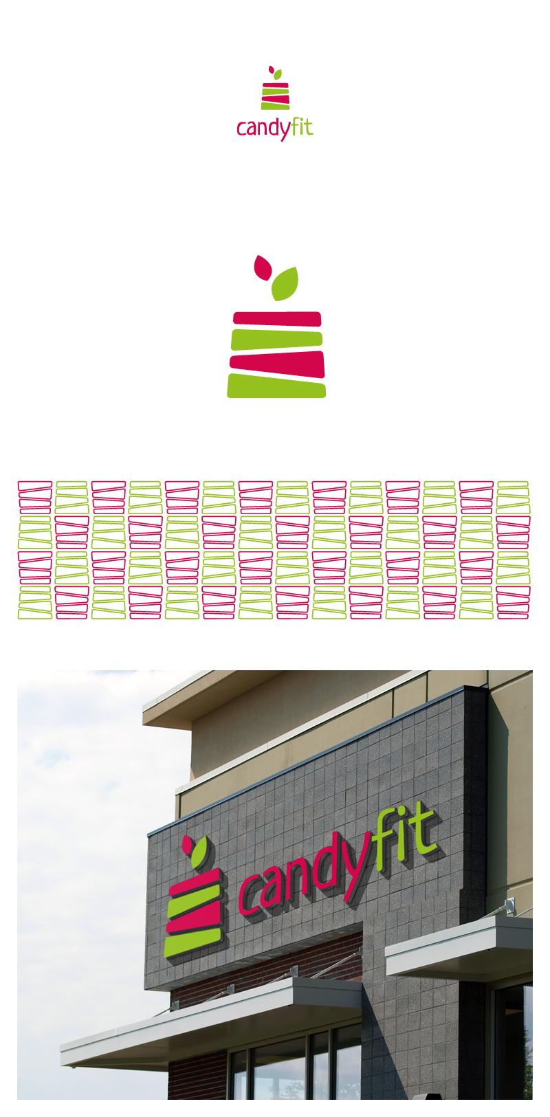 "Разработать логотип для ""CandyFit"" фото f_55451dfebd0e56ba.jpg"