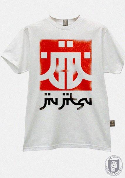 футболка с логотипом группы  Jiu-Jitsu