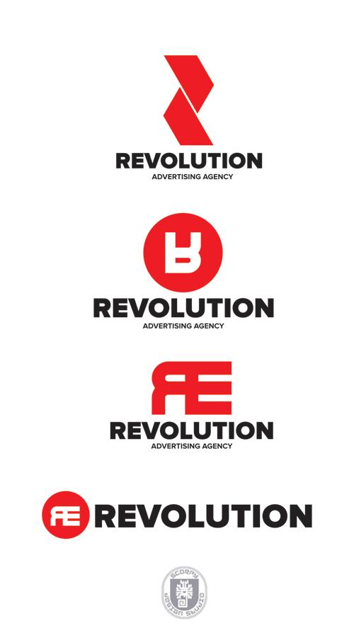 Разработка логотипа и фир. стиля агенству Revolución фото f_4fb787c7af766.jpg