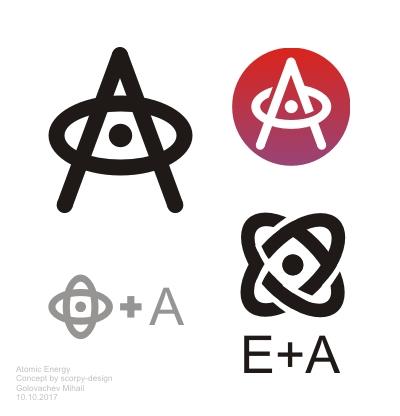 """Фирменный стиль для научного портала """"Атомная энергия 2.0"""" фото f_62659dc7938458f5.jpg"""