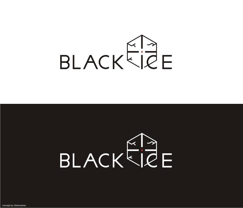 """Логотип + Фирменный стиль для компании """"BLACK ICE"""" фото f_84456dd3d92e6b45.jpg"""
