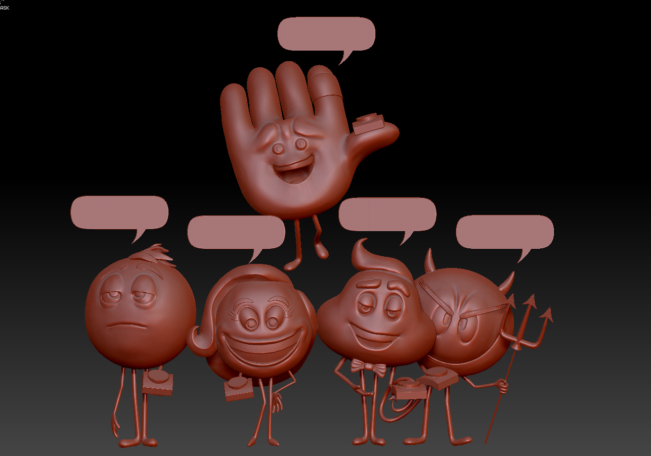 Инсталяция Emoji
