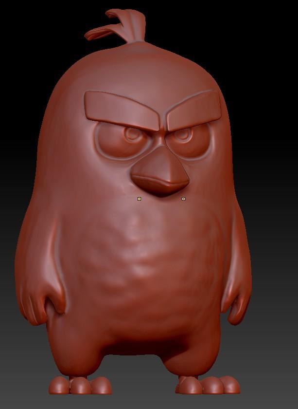 Angry Birds (красный)