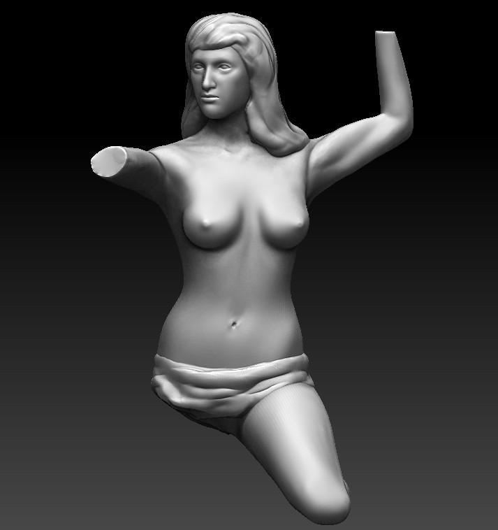 Скульптура Родена 2