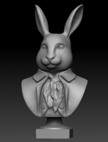 Заяц бюст