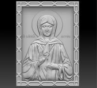 Икона Матрона барельеф