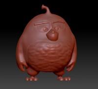 Angry Birds (черный)