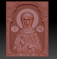 Икона барельеф