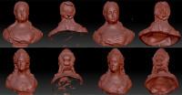 Обработка сканов бюстов