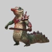 Аллигатор (игровая модель, 3.8к полигонов)
