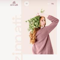 Дизайн сайта zinatti