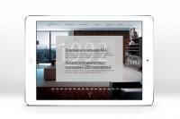 Верстка лендинга мебельной компании (адаптив)