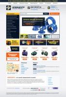 Верстка интернет-магазина сантехники (11 макетов)