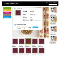 Сайт магазина плитки