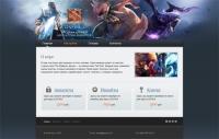Сайт по покупке аккаунтов, ключей для игры Dota2