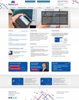 Верстка 16 макетов сайта компании по производству пластиковых карт