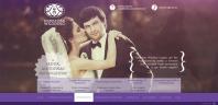 Верстка 14 макетов для свадебного агентства