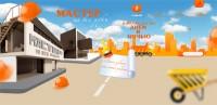 Верстка сайта по установке и ремонту бытовой техники (1 макет + паралакс)