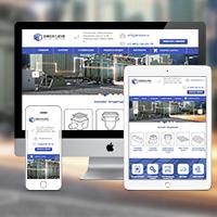 Адаптивный интернет магазин компании систем водоотвода на OpenCart