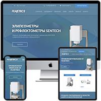 Сайт-каталог компании микро и нано технологий - Filmetrics