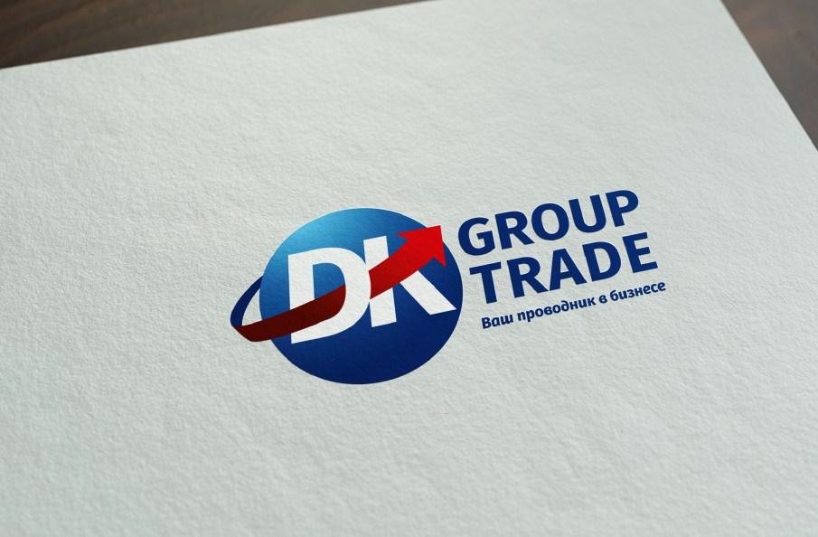 Логотип грузоперевозочной компании DK Group
