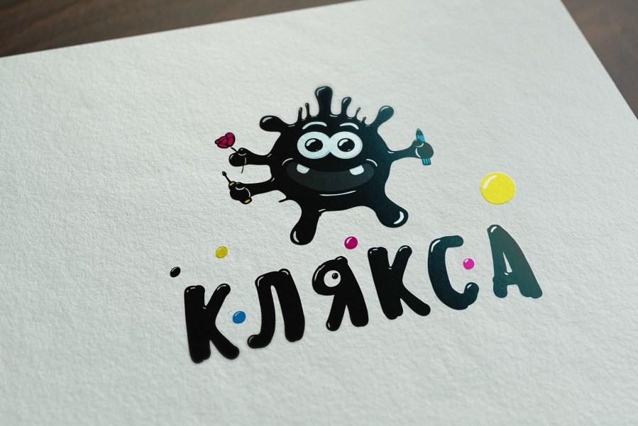 Логотип - Клякса