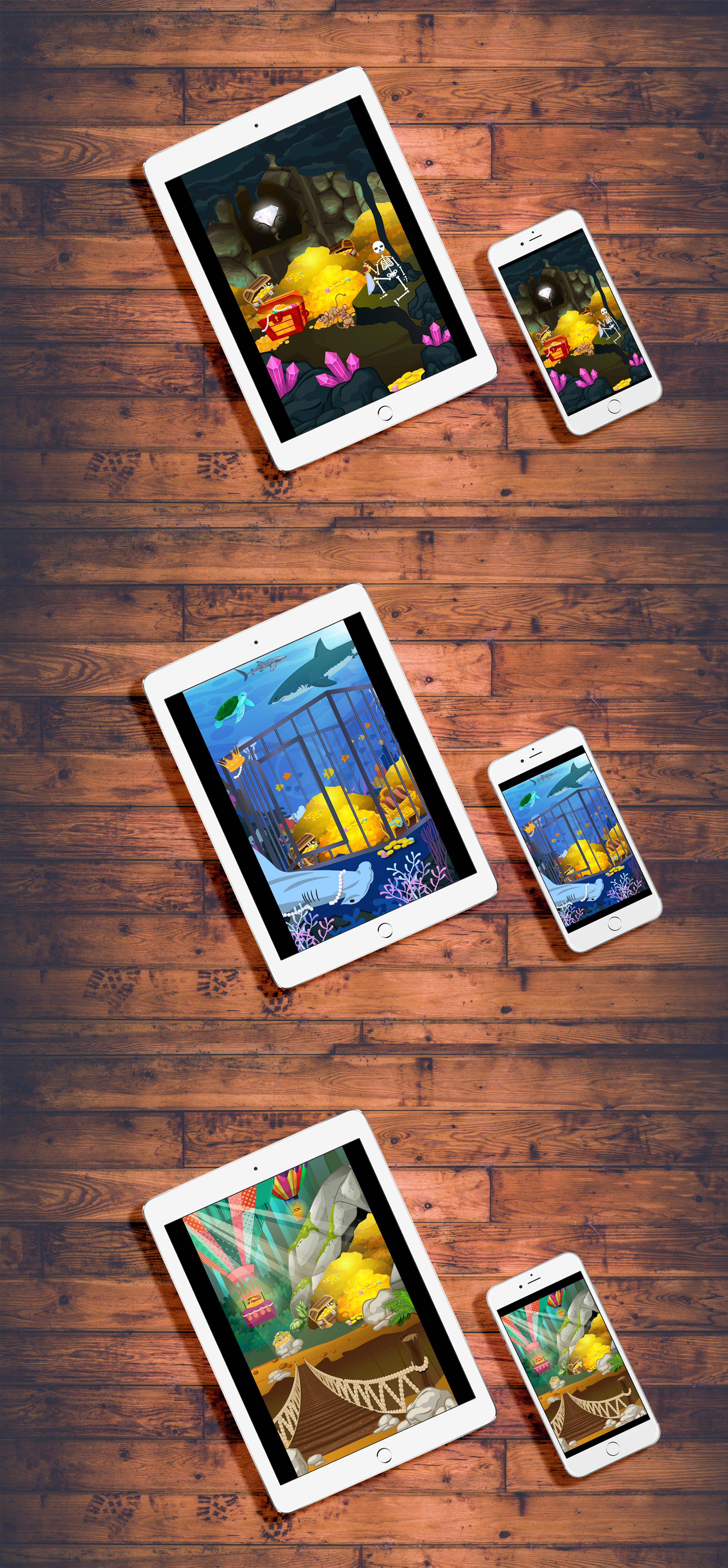Комнаты сокровищ - игра для приложения