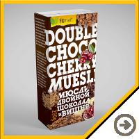 Упаковка - Double choko cherry muesli