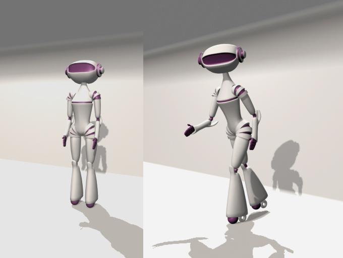 "Модель Робота - Ребёнка ""Роботёнок"" фото f_4b70d333f41e5.jpg"