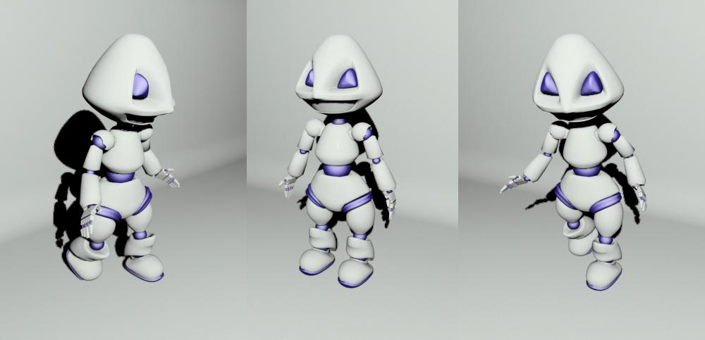 "Модель Робота - Ребёнка ""Роботёнок"" фото f_4b7f57edad398.jpg"