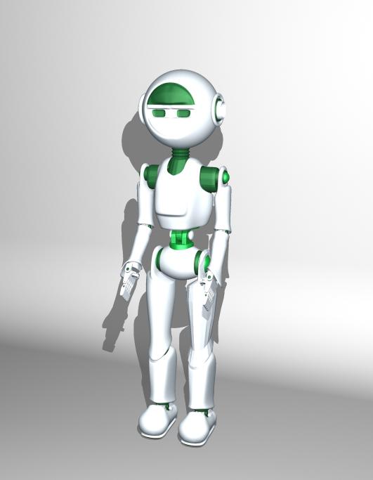 "Модель Робота - Ребёнка ""Роботёнок"" фото f_4b8720f1f1a27.jpg"