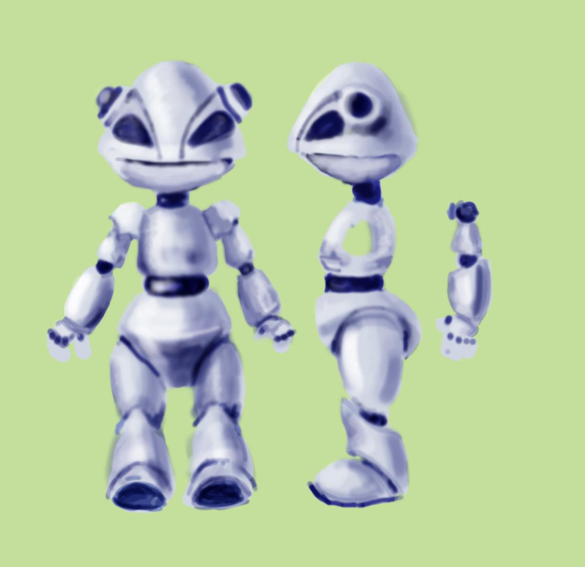"""Модель Робота - Ребёнка """"Роботёнок"""" фото f_4b87213cc6ab8.jpg"""