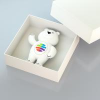 Мишка в коробке - модель рендер