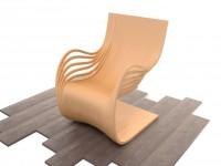 Кресло, сборка, рендер.