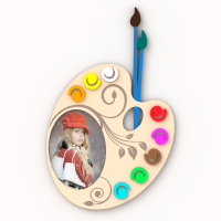 Визуализация рамки для чпу Палитра