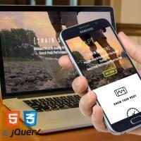 Skulpt - Responsive Landing Page