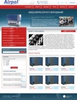 Верстка сайта для завода Airpol