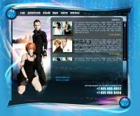 Верстка сайта для группы H2O