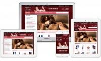 Адаптивный дизайн интернет-магазина для взрослых