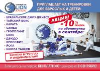 Флаерс А6 спортивного клуба LION